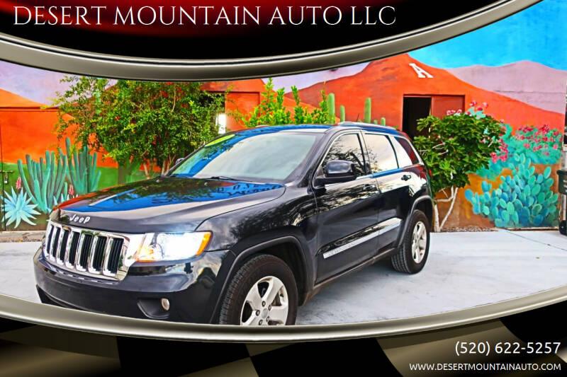 2011 Jeep Grand Cherokee for sale at DESERT MOUNTAIN AUTO LLC in Tucson AZ