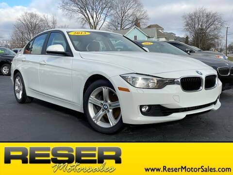 2013 BMW 3 Series for sale at Reser Motorsales in Urbana OH