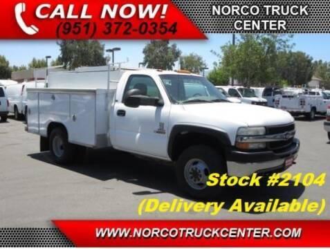 2001 Chevrolet Silverado 3500 for sale at Norco Truck Center in Norco CA