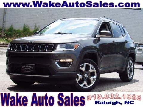 2018 Jeep Compass for sale at Wake Auto Sales Inc in Raleigh NC