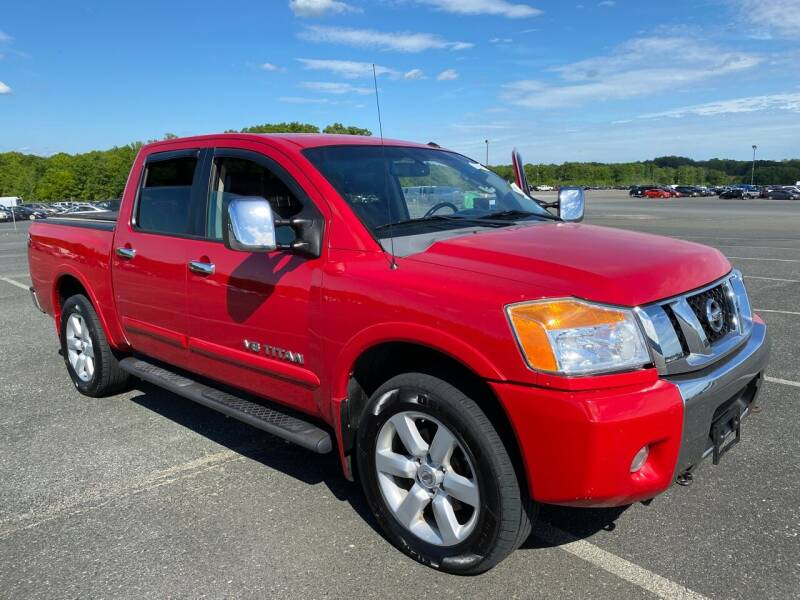 2008 Nissan Titan for sale at Used Cars of Fairfax LLC in Woodbridge VA