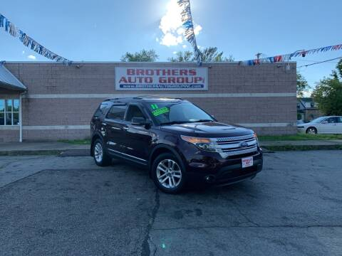2011 Ford Explorer for sale at Brothers Auto Group in Youngstown OH