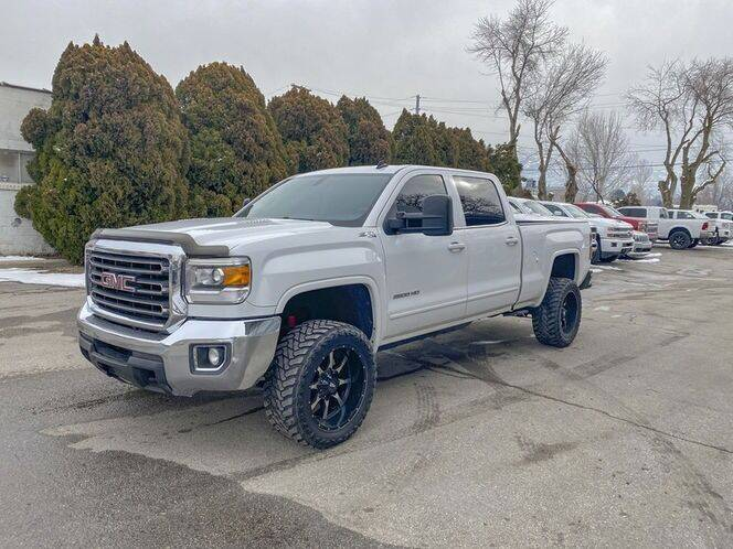 2015 GMC Sierra 2500HD for sale at Hoskins Trucks in Bountiful UT