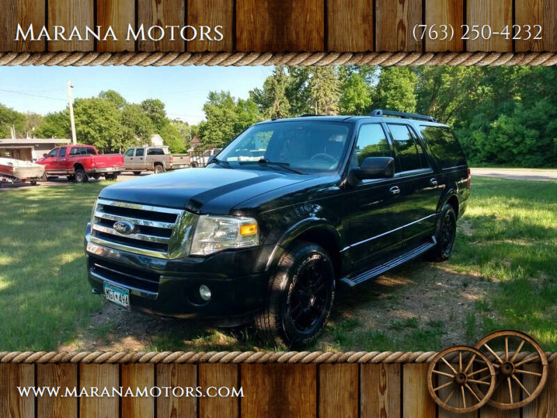 2011 Ford Expedition EL for sale at Marana Motors in Princeton MN
