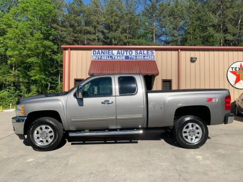 2012 Chevrolet Silverado 2500HD for sale at Daniel Used Auto Sales in Dallas GA