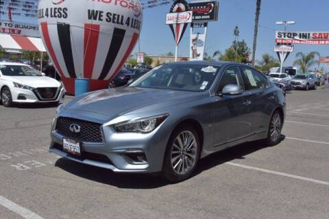 2018 Infiniti Q50 for sale at Choice Motors in Merced CA