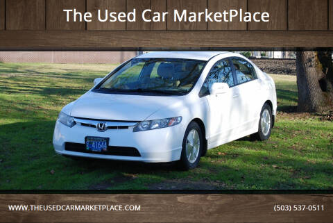 2008 Honda Civic for sale at The Used Car MarketPlace in Newberg OR