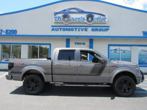 2014 Ford F-150 for sale at The Wholesale Outlet in Blackwood NJ