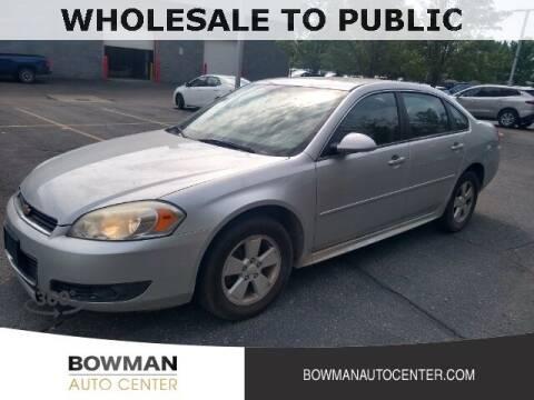 2011 Chevrolet Impala for sale at Bowman Auto Center in Clarkston MI