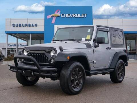 2017 Jeep Wrangler for sale at Suburban Chevrolet of Ann Arbor in Ann Arbor MI