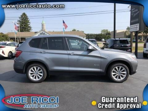 2017 BMW X3 for sale at Mr Intellectual Cars in Shelby Township MI