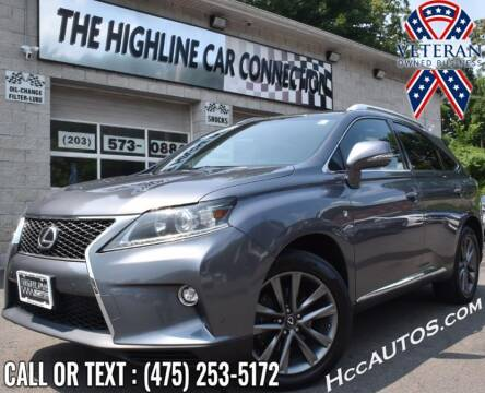 2015 Lexus RX 350 for sale at The Highline Car Connection in Waterbury CT