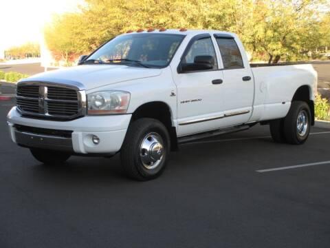 2006 Dodge Ram Pickup 3500 for sale at COPPER STATE MOTORSPORTS in Phoenix AZ