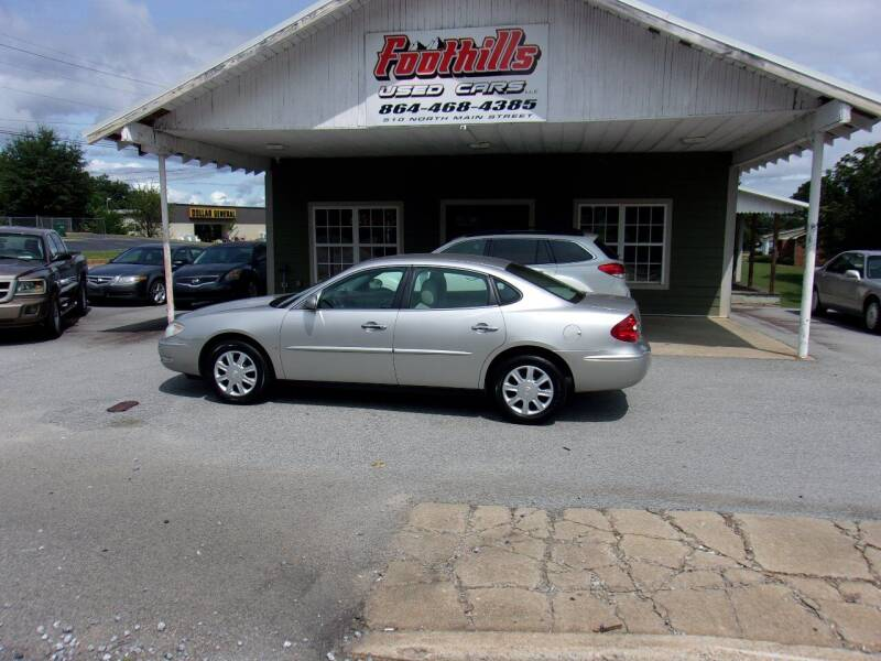 2006 Buick LaCrosse for sale at Foothills Used Cars LLC in Campobello SC