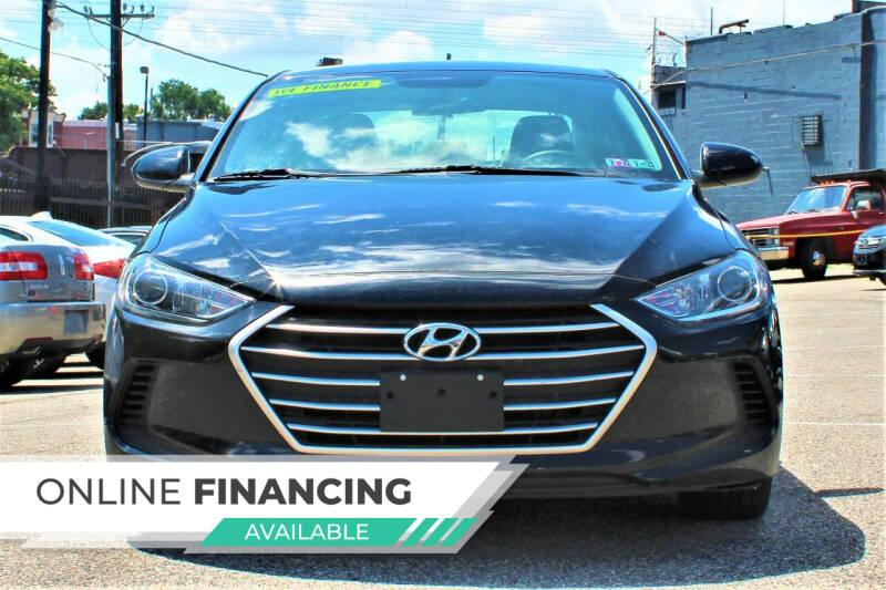 2017 Hyundai Elantra for sale at EZ PASS AUTO SALES LLC in Philadelphia PA