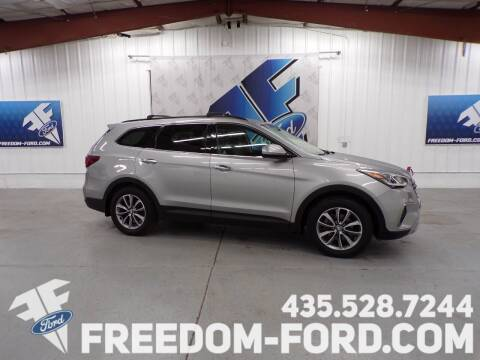 2017 Hyundai Santa Fe for sale at Freedom Ford Inc in Gunnison UT