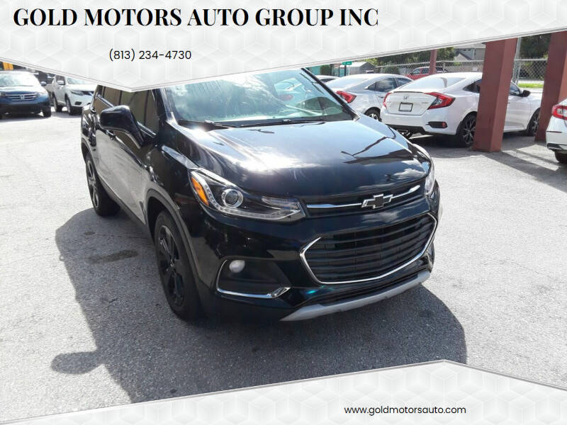2019 Chevrolet Trax for sale at Gold Motors Auto Group Inc in Tampa FL