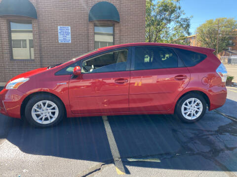 2014 Toyota Prius v for sale at R n B Cars Inc. in Denver CO