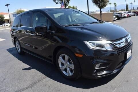 2018 Honda Odyssey for sale at DIAMOND VALLEY HONDA in Hemet CA