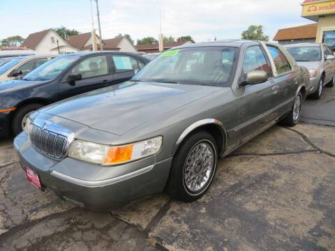 2001 Mercury Grand Marquis for sale at Bells Auto Sales in Hammond IN