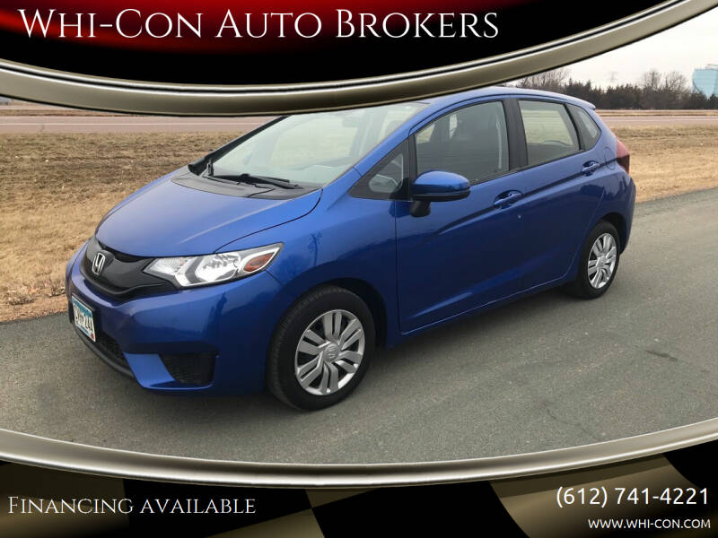 2017 Honda Fit for sale at Whi-Con Auto Brokers in Shakopee MN