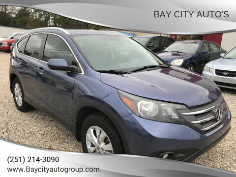 2013 Honda CR-V for sale at Bay City Auto's in Mobile AL