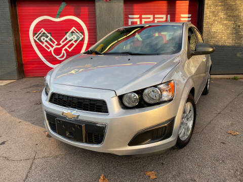 2014 Chevrolet Sonic for sale at Apple Auto Sales Inc in Camillus NY