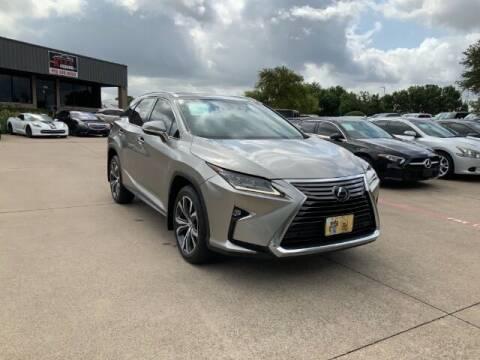 2017 Lexus RX 350 for sale at KIAN MOTORS INC in Plano TX