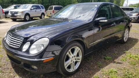 2005 Mercedes-Benz E-Class for sale at Ray's Auto Sales in Elmer NJ