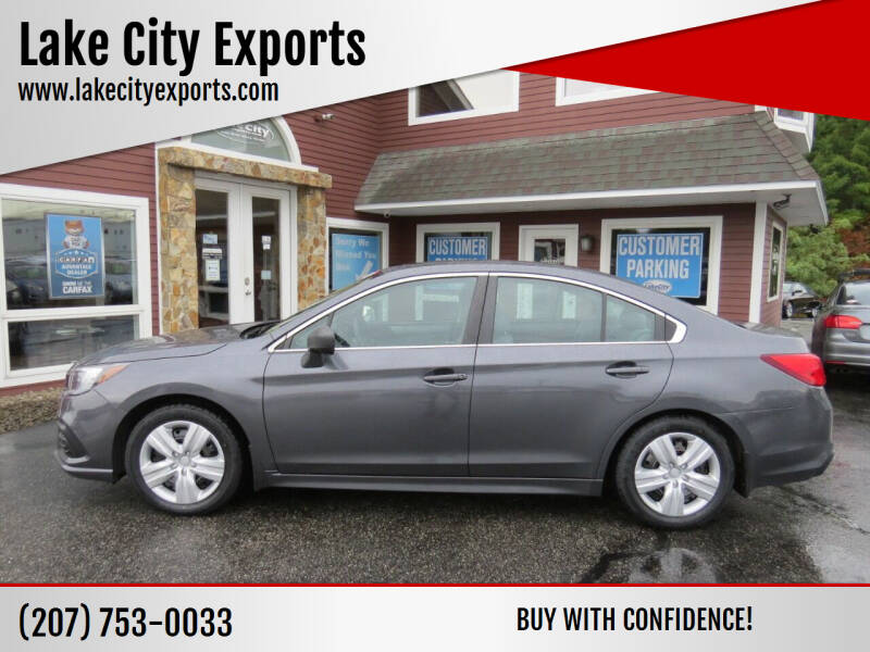 2018 Subaru Legacy for sale at Lake City Exports in Auburn ME