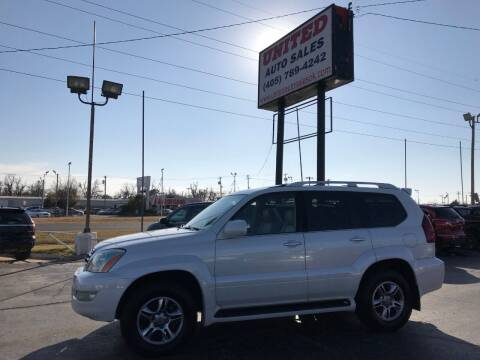 2008 Lexus GX 470 for sale at United Auto Sales in Oklahoma City OK