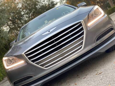 2016 Hyundai Genesis for sale at HIGH PERFORMANCE MOTORS in Hollywood FL