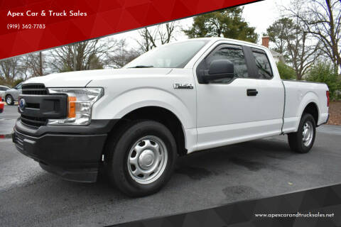 2019 Ford F-150 for sale at Apex Car & Truck Sales in Apex NC