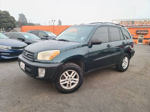 2001 Toyota RAV4 for sale at City Motors in Hayward CA