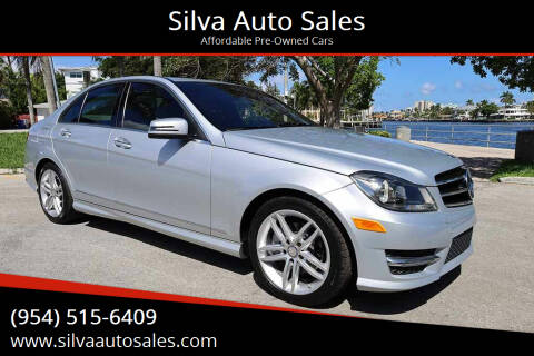 2014 Mercedes-Benz C-Class for sale at Silva Auto Sales in Pompano Beach FL