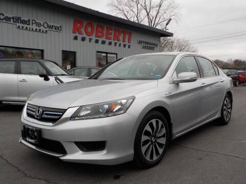 2014 Honda Accord Hybrid for sale at Roberti Automotive in Kingston NY