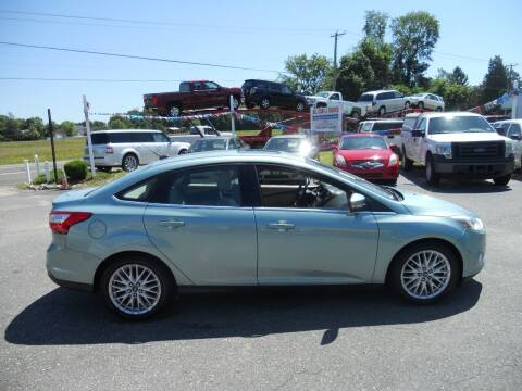 2012 Ford Focus for sale at All Cars and Trucks in Buena NJ
