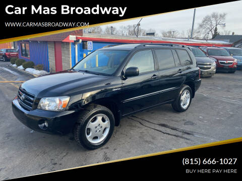 2005 Toyota Highlander for sale at Car Mas Broadway in Crest Hill IL