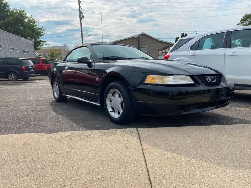 1999 Ford Mustang for sale at A & A AUTO SALES in Warsaw IN