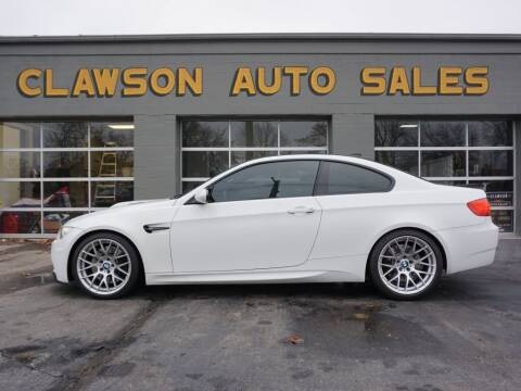 2011 BMW M3 for sale at Clawson Auto Sales in Clawson MI