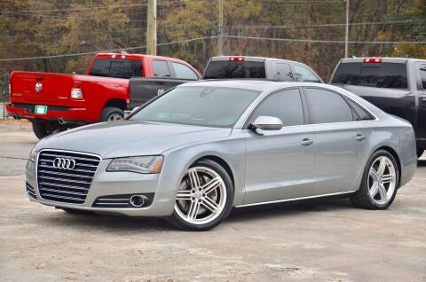 2012 Audi A8 for sale at Marietta Auto Mall Center in Marietta GA