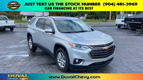2020 Chevrolet Traverse for sale at Duval Chevrolet in Starke FL