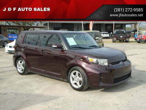 2011 Scion xB for sale at J & F AUTO SALES in Houston TX