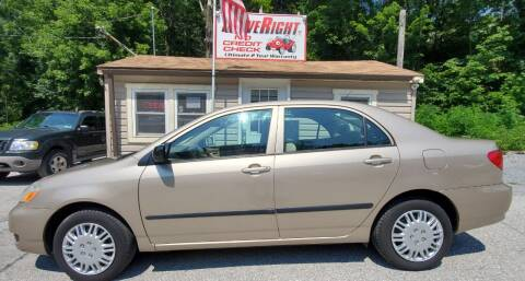2008 Toyota Corolla for sale at DriveRight Autos South York in York PA