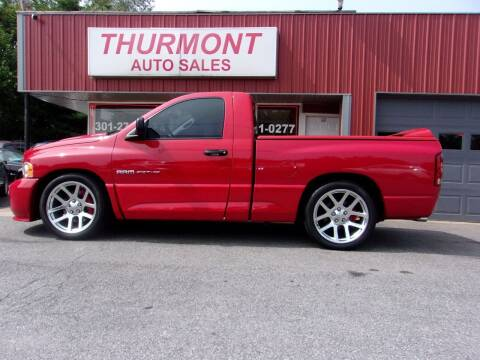 2005 Dodge Ram Pickup 1500 SRT-10 for sale at THURMONT AUTO SALES in Thurmont MD