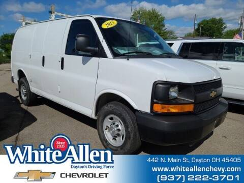 2015 Chevrolet Express Cargo for sale at WHITE-ALLEN CHEVROLET in Dayton OH
