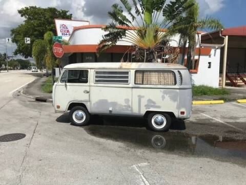 1970 Volkswagen Vanagon for sale at Classic Car Deals in Cadillac MI