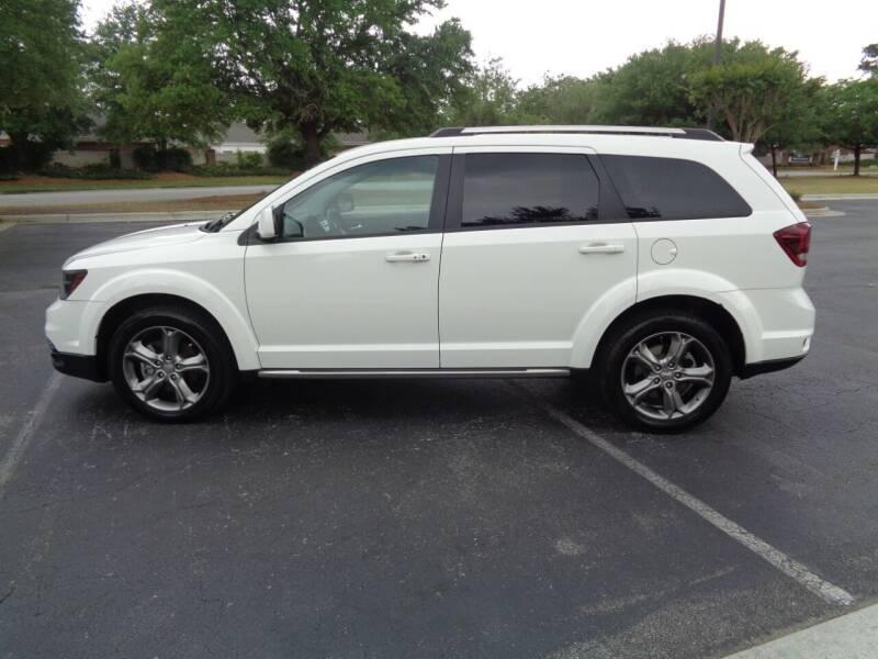 2017 Dodge Journey for sale at BALKCUM AUTO INC in Wilmington NC