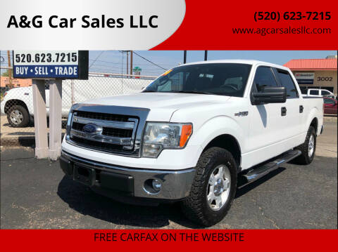 2014 Ford F-150 for sale at A&G Car Sales  LLC in Tucson AZ