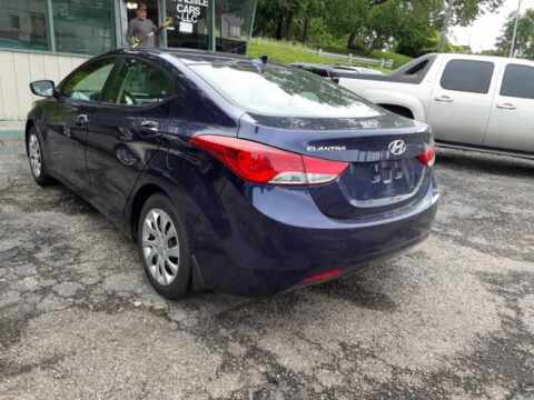 2012 Hyundai Elantra for sale at Carlisle Cars in Chillicothe OH
